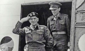 A real dead ringer for lurrrrve. I mean... Field Marshal Montgomery.