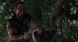 So THAT'S why the film's called Commando!