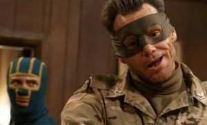 Kick-Ass knew the Colonel had released a potent nerve gas into the air, but didn't want to call him on it.