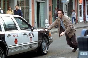 """John Cusack's Superman demo tape became viral hit """"man pushes car with one hand."""""""
