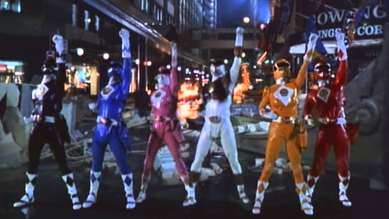 mighty morphin power rangers the movie 1995