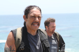 Danny Trejo had just realised what film he was in.
