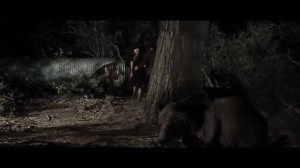 The bear's stalking skills were second to none.