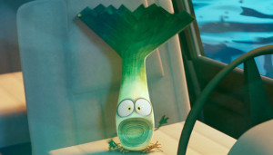 A leek in the boat. Never gets old.