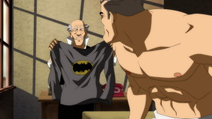 """""""I'm sorry Master Wayne, the colours ran in the wash."""""""