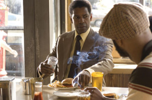 Denzel didn't take kindly to people that coveted his cheeseburger.