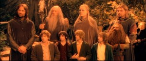 The Fellowship. Lovely bunch of chaps.
