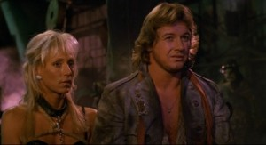 Roddy Piper just realised he wasn't going to win any awards for this movie.