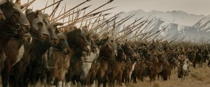 That's a lot of horses. And spears. Wonder what they'll use them for?