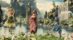CGI fairies. Annoying.