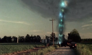 Yeah, looks totally realistic. Not even aliens would create a tornado this awful.