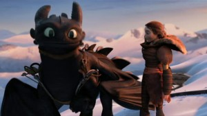 Watch out Toothless, she'll probably try and claim ownership of you.