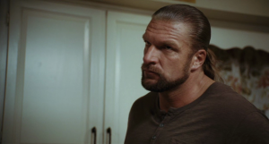Triple H - taking the art of staring at walls to an all new level.
