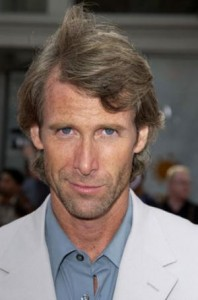 Michael Bay. Smug. Yesterday.