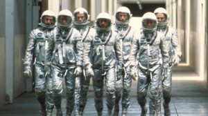 They all felt a little self conscious in their foil suits.