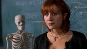 Thankfully, she knew that the skeleton wasn't a mimic. In fact, he was called Bernard.