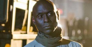 """Hi, I'm Lance Reddick. I'll be your big name star for five minutes of this venture."""