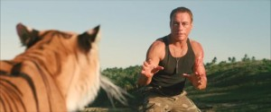 Van Damme faces off against the only predator capable of taking him on in a straight fight.