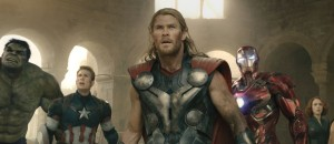 Avengers, assemble! And look serious.