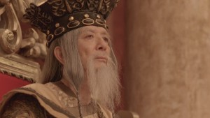 James Hong. Not in it long enough to make the story worthwhile.